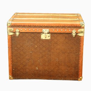 Vintage Monogram Hat Trunk from Aux Etats-Unis, 1930s