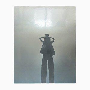 Emaille Wandskulptur mit Schnitzereien von Peter Eastman, 2004