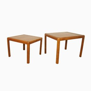 Danish Teak Coffee Tables, 1960s, Set of 2