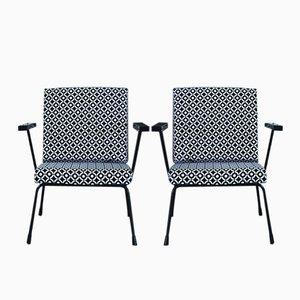 Vintage 415/1407 Armlehnstühle von Wim Rietveld & Andre Cordemeyer für Gispen, 2er Set