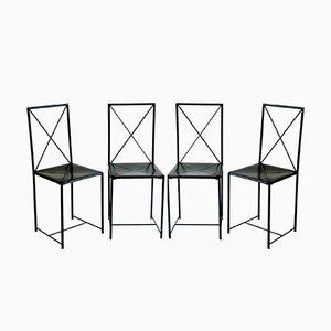 Moka Chairs von Asnago & Vender für Flexform, 1980er, 4er Set