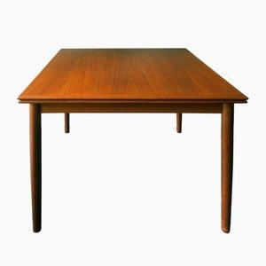 Extendable Teak Dining Table, 1960s