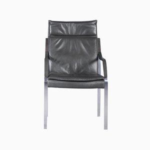 Alpha Art Collection Leder Sessel von Fabricius & Kastholm für Walter Knoll, 1980er