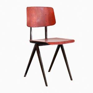 S16 Esszimmerstühle von Galvanitas, 4er Set, 1960er