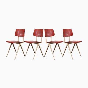 Modell S16 Esszimmerstühle von Galvanitas, 1960er, 4er Set