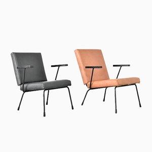 Sessel von Wim Rietveld & A. R. Cordemeyer für Gispen, 1950er, 2er Set