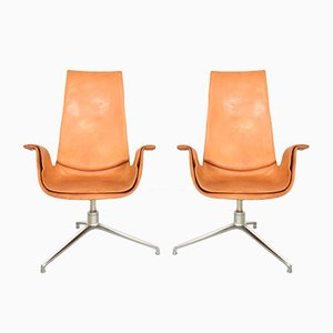 FK 6725 Tulip Chairs von Fabricius & Kastholm für Kill International, 1960er, 2er Set