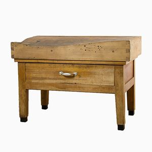 Vintage Belgian Butchers Table