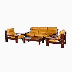 Brazilian Sofa Set by Jean Gillon for Probel, 1960s
