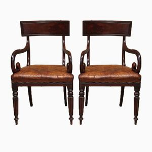 Antique English Chairs, Set of 2