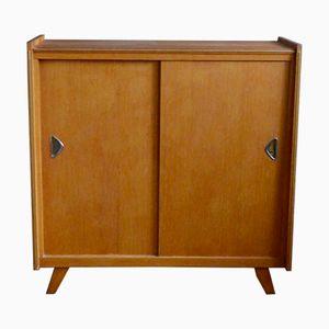 Oak Shoe Cabinet, 1960s