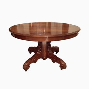 French Walnut Dining Table, 1850s