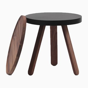 Petite Table Plateau en Noyer Noir par Daniel García Sánchez pour WOODENDOT