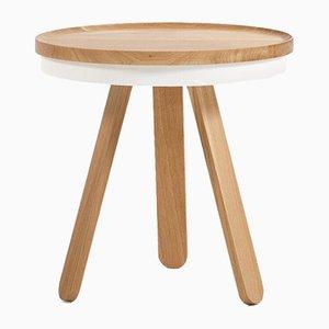 Petite Table Plateau en Chêne Blanc par Daniel García Sánchez pour WOODENDOT