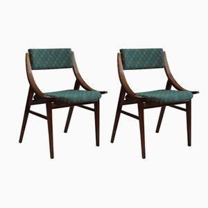 Skoczek Dining Chairs from Zamojskie Fabryki Mebli, 1970s, Set of 2