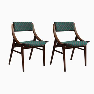Skoczek Esszimmerstühle von Zamojskie Fabryki Mebli, 1970er, 2er Set