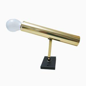 Adjustable Golden Spot Wall Lamp from Lita, 1960s