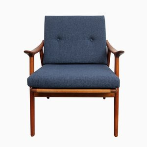 Mid-Century Model 563 Teak Armchair by Fredrik A. Kayser for Vatne