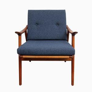 Mid-Century Modell 563 Teak Armlehnstuhl von Fredrik A. Kayser für Vatne