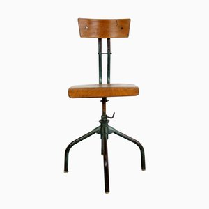 French Industrial Machinists Chair, 1950s