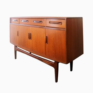 Mid-Century Teak Fresco Sideboard by Victor Wilkins for G-Plan