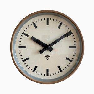 Industrielle Uhr von Pragotron, 1970er