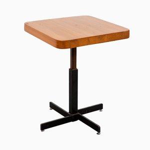 Anpassbarer quadratischer vintage Les Arcs Tisch von Charlotte Perriand