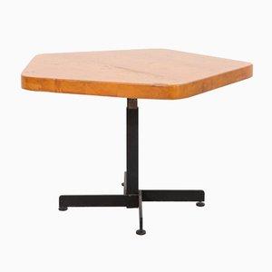 Anpassbarer fünfeckiger Les Arcs Tisch von Charlotte Perriand, 1960er