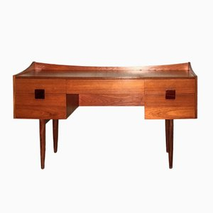 Teak & Afromosia Dressing Table by Ib Kofod-Larsen for G-Plan, 1960s