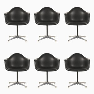 Armchairs by Charles and Ray Eames for Herman Miller, 1960s, set of 6