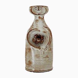 Vase Figurine en Céramique par Jacques Pouchain pour L'Atelier Dieulefit, 1950s