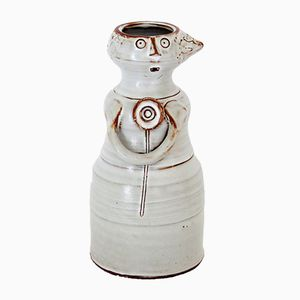 Model Femme Ceramic Vase by Jacques Pouchain for Atelier Dieulefit, 1950s