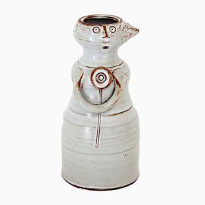 Vase Modèle Femme en Céramique par Jacques Pouchain pour Atelier Dieulefit, 1950s