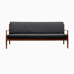 Danish Teak Sofa by Grete Jalk for France & Søn, 1960s