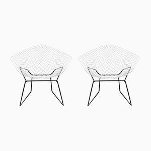 Modell 421 Diamond Chairs von Harry Bertoia für Knoll, 1970er, 2er Set