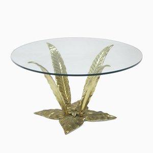 Vintage Brass Side Table, 1960s