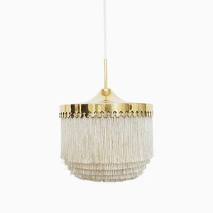 Model T601/M Fringe Pendant Lamp by Hans Agne Jakobsson for Markaryd, 1960s