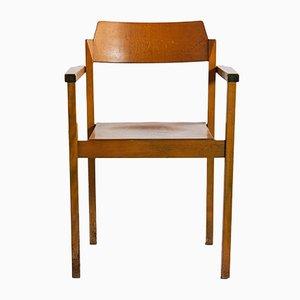 Vintage Angular Armchair, 1970s