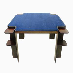 Italienischer viereckiger Holz Spieltisch von Cini & Nils, 1970er