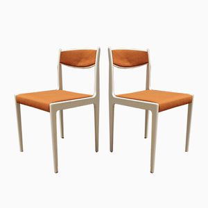 Mid-Century Dining Chairs from Lübke, 1960s, Set of 2
