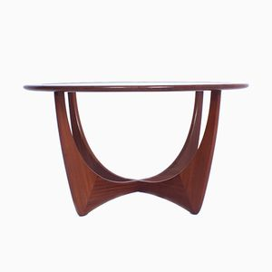 Mid-Century Modern Teak & Glass Astro Coffee Table by Victor Wilkins for G-plan