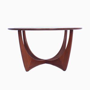 Tavolino da caffè Astro Mid-Century moderno in teak e vetro di Victor Wilkins per G-Plan
