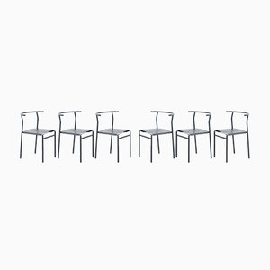 Cafe Chairs by Philippe Starck for Baleri Italia, 1980s, Set of 6