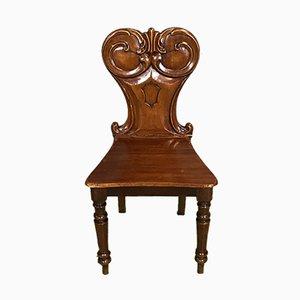 Chaise Antique en Acajou