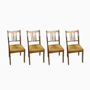 Chaises Vintage en Teck, 1970s, Set de 4