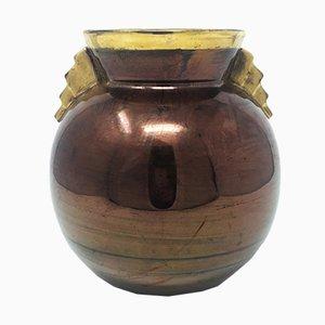 Vase Art Déco en Céramique, France, 1930s