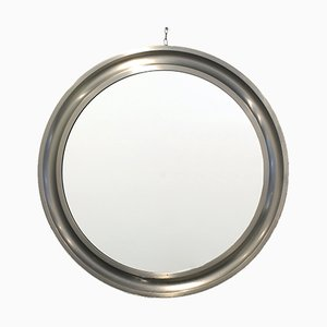 Specchio rotondo modellato di Sergio Mazza per Artemide, anni '60