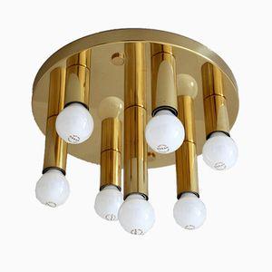 Vintage Brass Model 7271/07 Ceiling Light from Sölken