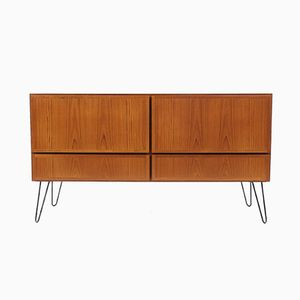 Teak Chest Of Drawers by Omann Jun, 1960s