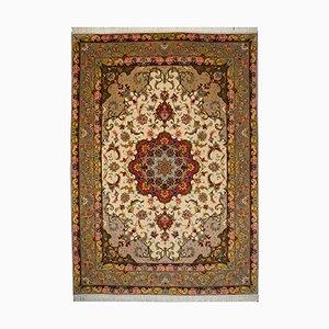 Vintage Persian Tabriz Rug, 1980s